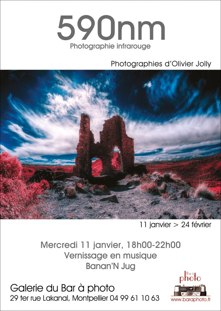 Exposition 590nm, photographies infrarouge : Olivier Jolly