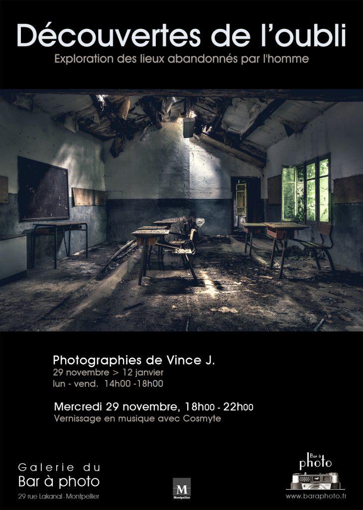 Exposition Photo à Montpellier | Découvertes de l'oubli : Vince J. | Urbex