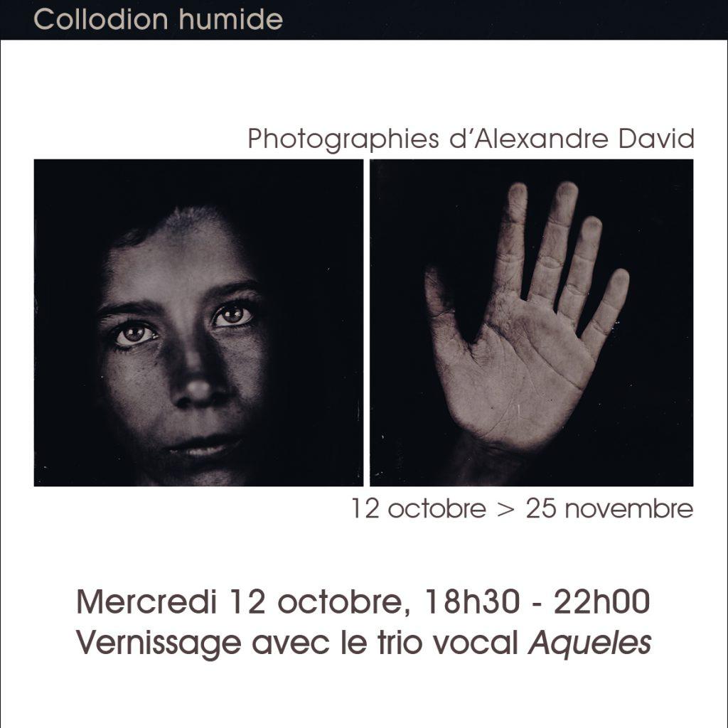 """Exposition """"Et dehors, pluie continuera de tomber"""" du 12 octobre 2016 au 25 novembre 2016. Photographies d'Alexandre David. Galerie du Bar à Photo - Montpellier."""